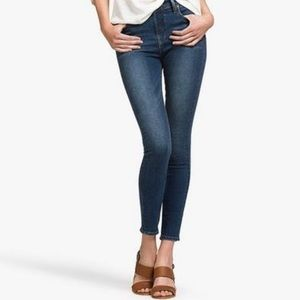 Lucky Olivia Skinny high rise jeans